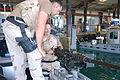 Coast guard boat house, Guantanamo.JPG