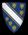 Coat of arms of Henry de Bohun, Earl of Hereford.png