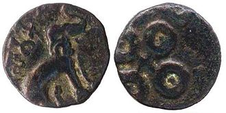 Satakarni - Early coin of Satakarni, Maharashtra - Vidarbha type
