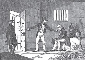 Debtors' Prison Relief Act of 1792 - Richard Mentor Johnson exonerating a confined colonist from debtors' prison