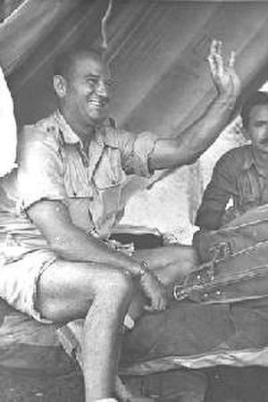 Battles of Latrun (1948) - US Col. Mickey Marcus in 1948, the first modern Israeli general (Aluf)