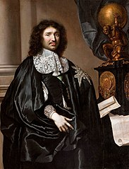 Portrait of Jean-Baptiste Colbert
