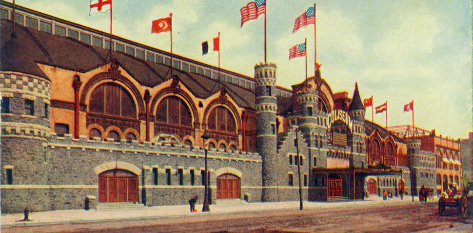 Coliseum Building Chicago