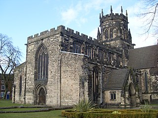 Church in Stafford, England