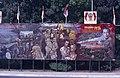 Collectie NMvWereldculturen, TM-20019403, Dia- Schildering ter gelegenheid van het 40-jarig jubileum van de viering van Onafhankelijkheidsdag, Henk van Rinsum, 08-1985.jpg