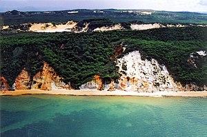 Hope Vale, Queensland - Coloured silica sands near Hopevale