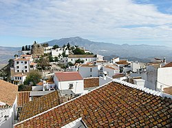 Skyline of Comares