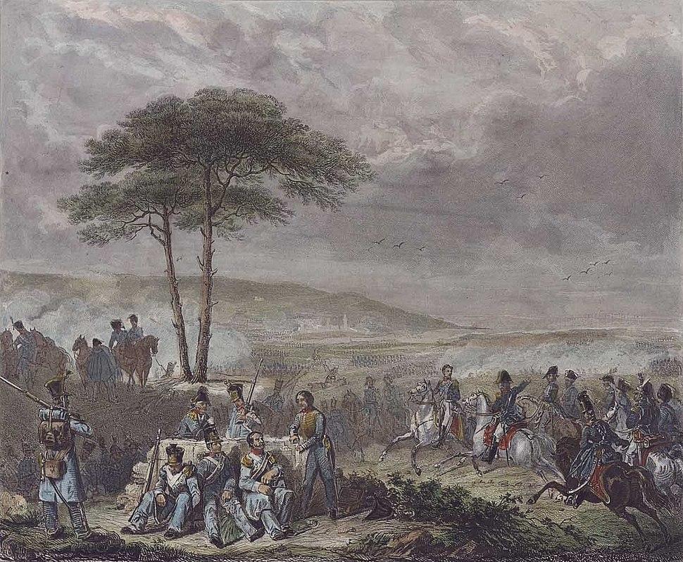 Combat de la Corogne 16 janvier 1809 (ca. 1823) - Lecomte, Hippolyte