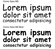 Description de l'image Comic Sans1.png.