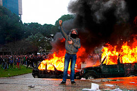 Image illustrative de l'article Manifestations albanaises de 2011