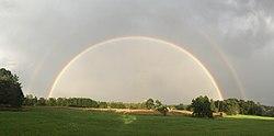 vilka färger har regnbågen