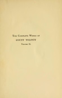Complete Works of Count Tolstoy - 02.djvu