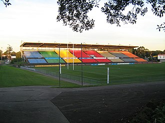 Concord Oval - Image: Concord Oval eastern grandstand