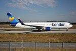 Condor Boeing 767-330-ER D-ABUB (29227089600).jpg