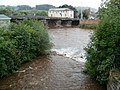 Confluence of the Honddu and Usk, Brecon - geograph.org.uk - 2606860.jpg