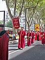Confrérie des Jaugeurs de Lirac au ban des vendanges d'Avignon.jpg