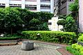 Confucius Statue and Sundial in Front Court of Xisong Elementary School, Taipei 20160505.jpg