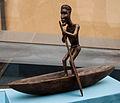 Congo, canoe, model in the Vatican Museums-2.jpg