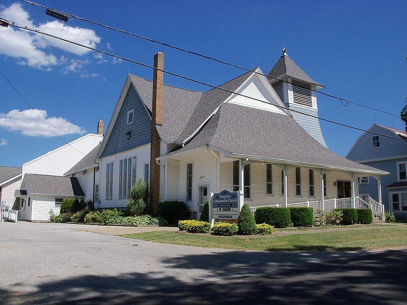 Lovely Valley Community Presbyterian Church #1: 800px-Congress_Community_Church%2C_Congress%2C_Ohio.jpg