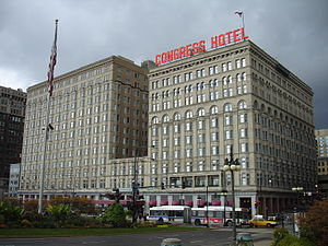 Congress Plaza Hotel - Congress Plaza Hotel, October 2012