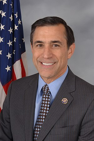 English: Congressman Darrell Issa's Official 1...