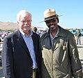 Congressman George Miller and Shelton Johnson (4809178551).jpg