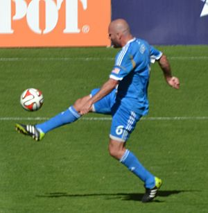 Conor Casey - Casey playing for the Philadelphia Union
