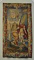 Constantí rep l'encàrrec d'acostar l'Imperi a l'Església, tapís, Museu de Belles Arts, València.JPG