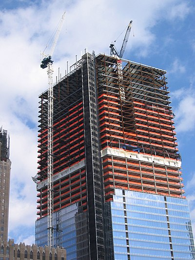 7 World Trade Center construction in October 2004 Construction 7wtc.jpg