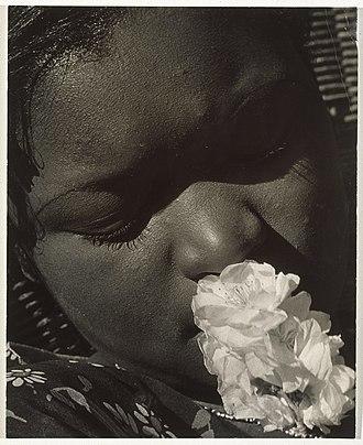 Consuelo Kanaga - Image: Consuelo Kanaga (American, 1894 1978). Frances with a Flower, early 1930s