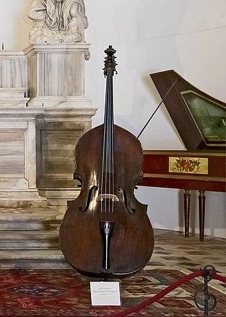 Carlo Bergonzi (luthier) -  Carlo Bergonzi – Double bass