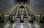 Copenhagen Metro escalators.jpg