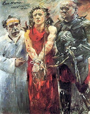 1925 in art - Image: Corinth Ecce homo