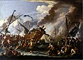 Cornelis de Wael - Battle between Christians and Turks.jpg