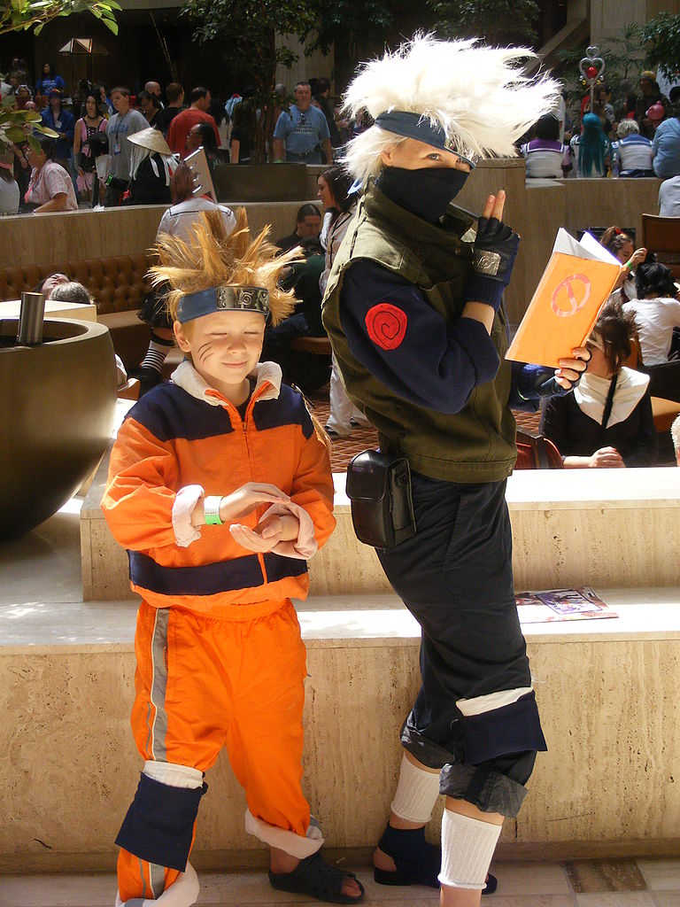 File Cosplay Naruto E Kakashi Jpg Wikimedia Commons