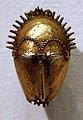 Costa d'avorio, baule, pendenti in oro, xx secolo, 05 maschera.jpg
