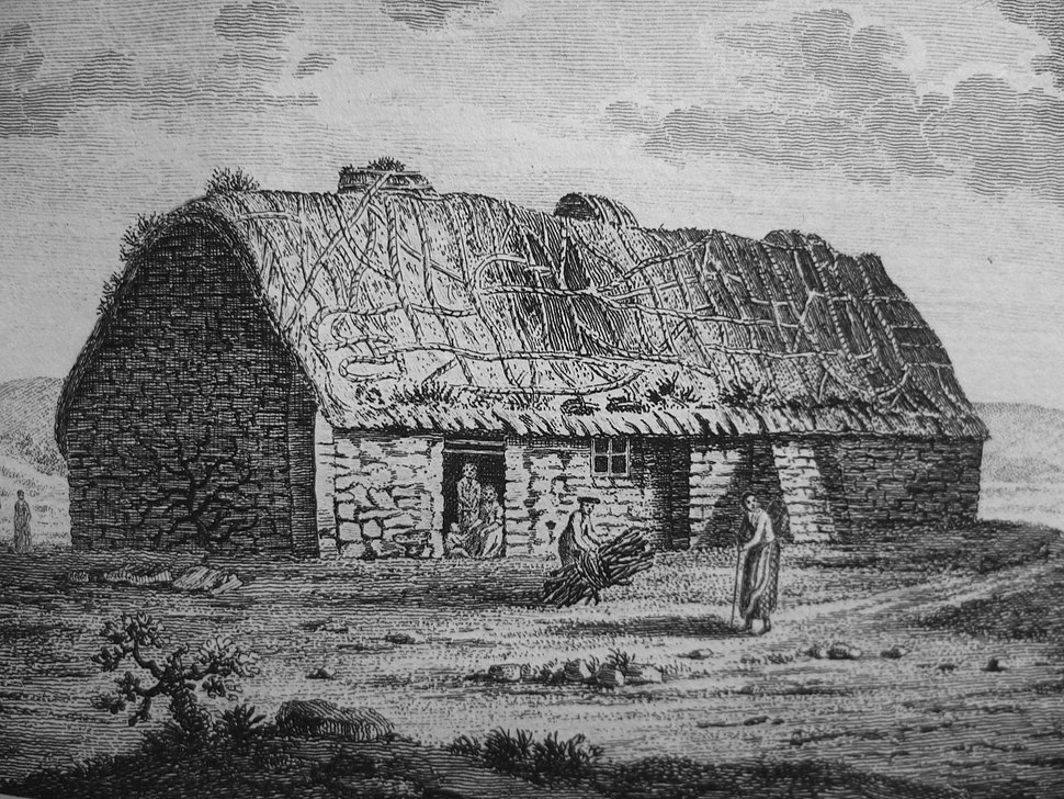 Cottage on Islay (18thC)