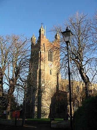 Cottenham - Image: Cottenham Church November 2003 014