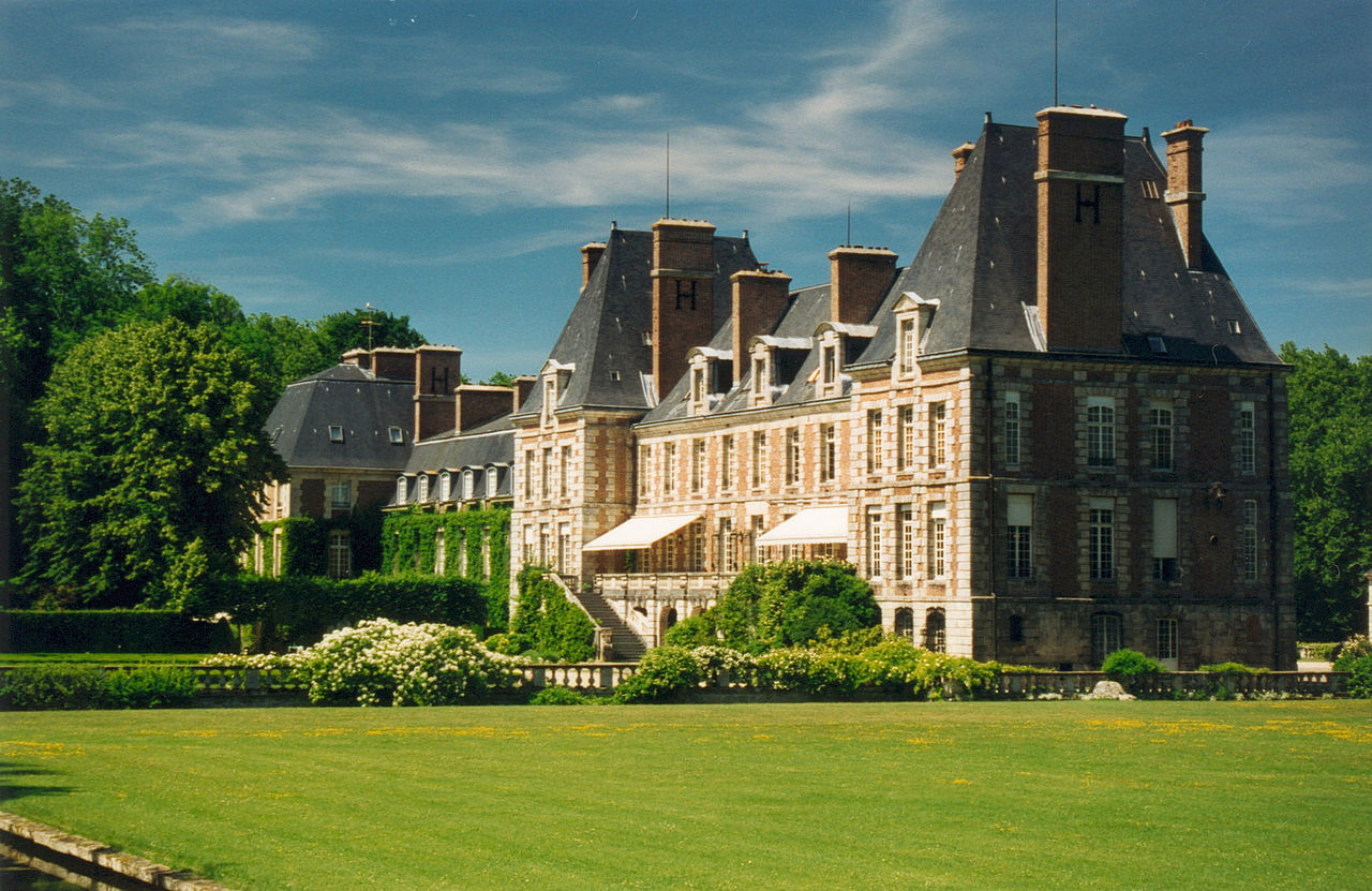 File courances chateau cote jardin wikimedia commons for Jardin 02