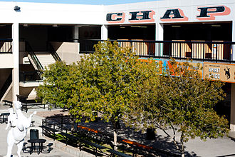 Chaparral High School (Paradise, Nevada) - Image: Courtyard 001