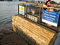 Cowes Floating Bridge East Cowes warning signs.JPG
