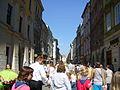Cracow - Floriańska street.JPG