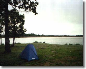 Crawford State Park (Kansas) - The shore and lake at Crawford State Park