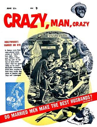 Humor magazine - Image: Crazy Man Crazy No 2