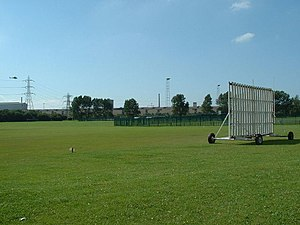 Steel Company of Wales Ground - Image: Cricket Field and sport Club geograph.org.uk 53061