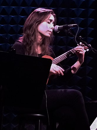 Cristin Milioti - Milioti playing ukulele in 2013