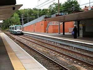 Crumpsall - Crumpsall Metrolink station
