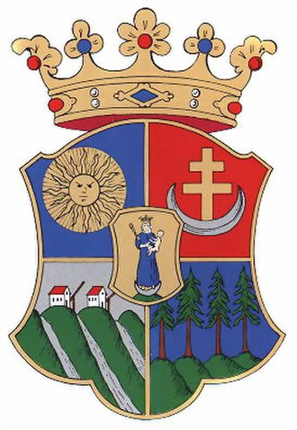 Csík County - Image: Csik coatofarms
