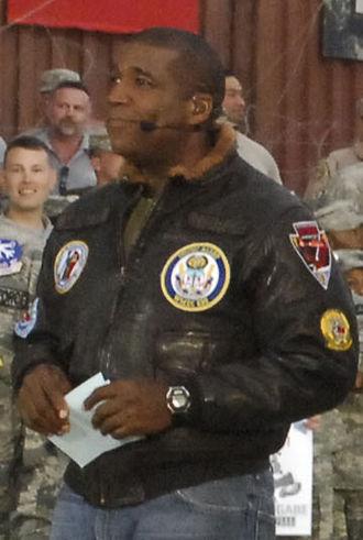 Curt Menefee - Menefee at Bagram Airfield in November 2009.