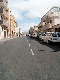 Assomada Settlement in Santiago, Cape Verde